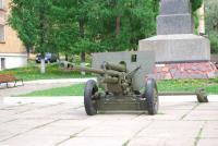 Пушка у памятника